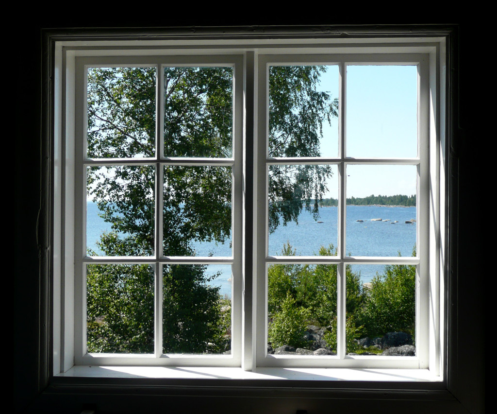 Lake View Vinyl Window